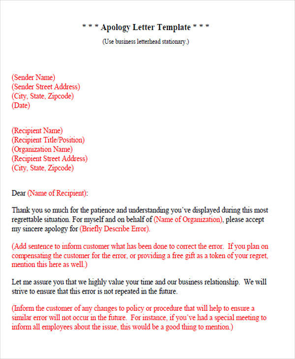 Resignation Letters Samples  Templates In Pdf