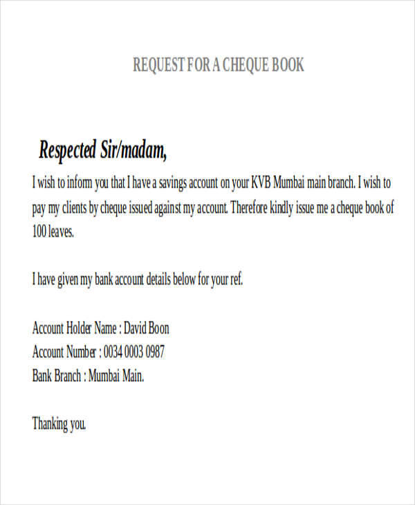 sbi cheque book request application form download pdf