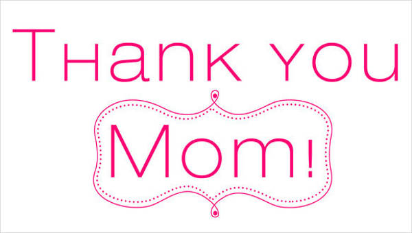 photo relating to Thanks for Going the Extra Mile Printable named 7+ Pattern Mother Thank On your own Letter - Free of charge Pattern, Instance