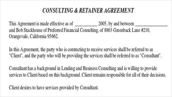 28 Consulting Agreement In Pdf