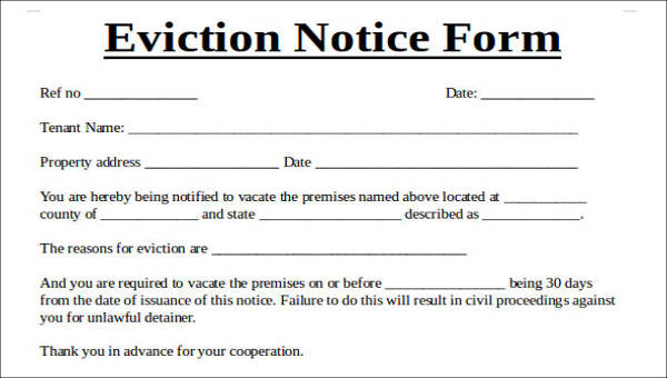 Printable Eviction Notice Template from images.sampletemplates.com