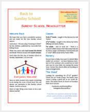 sample-sunday-school-newsletter