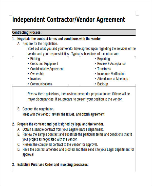 42  agreement forms in doc