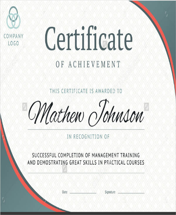 school education participation certificate