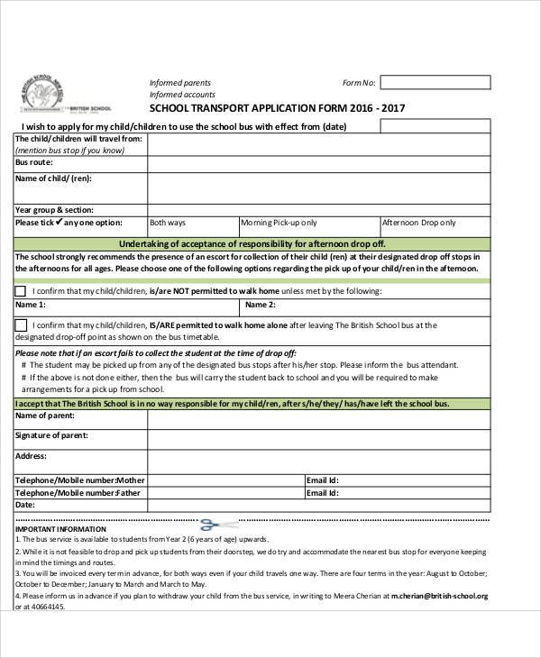 school transport application form1