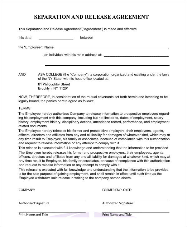 45+ Free Agreement Forms | Sample Templates