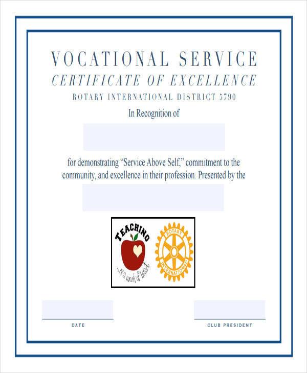 40+ Sample Award Certificates - Word, PSD, AI, EPS Vector