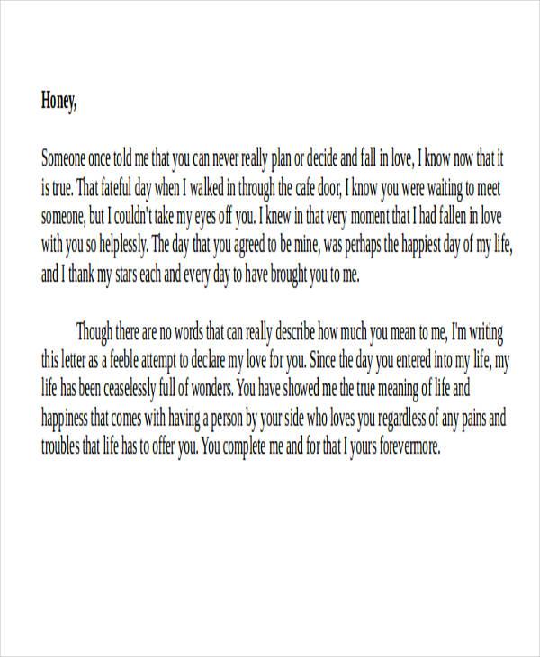 short love letter for her1