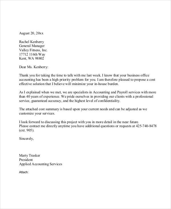 small business proposal letter1