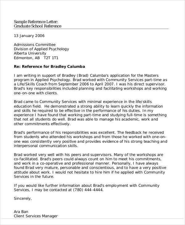 Student Reference Letter How To Write A Recommendation Letter For