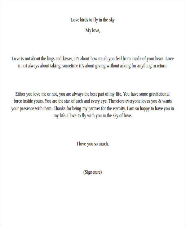 Love letter example sample love letter for her free download love love letter examples spiritdancerdesigns Choice Image