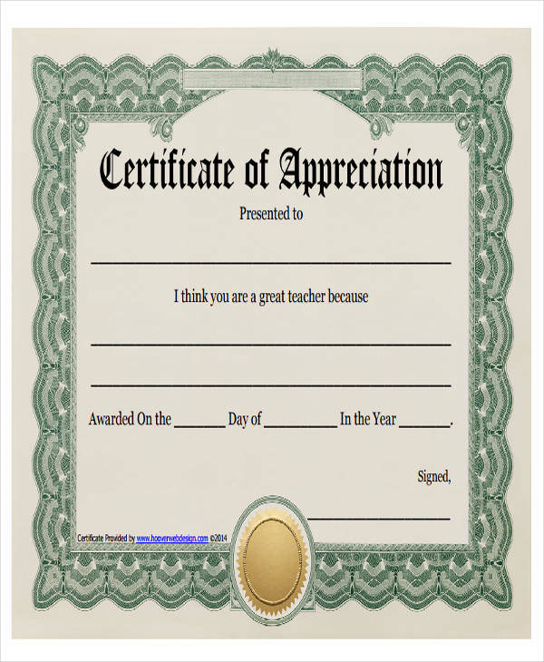 teacher appreciation award certificate4
