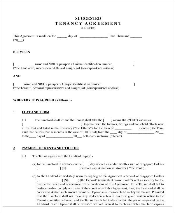 tenancy rental agreement1