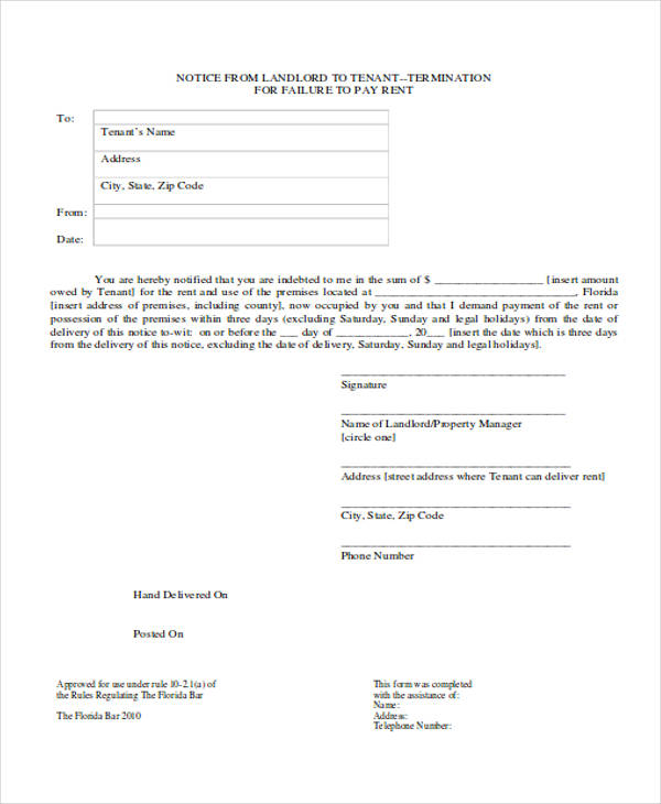 tenant eviction notice form3