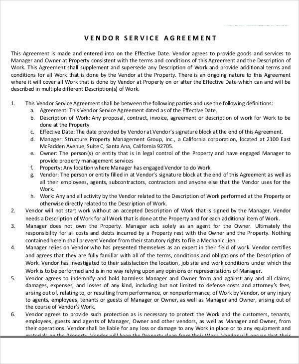 51 sample agreement samples sample templates. Black Bedroom Furniture Sets. Home Design Ideas