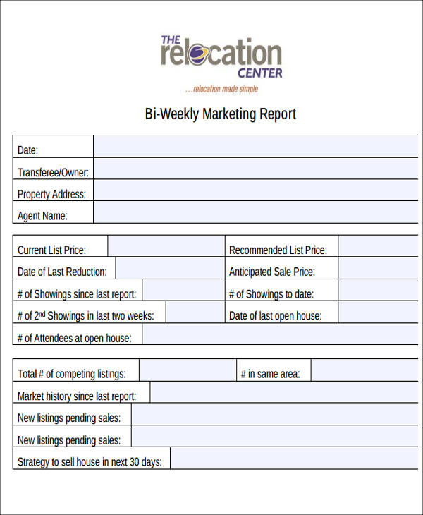 10+ Sample Marketing Reports | Sample Templates