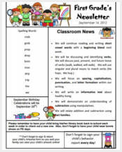 Newsletter Templates - 150+ Free PDF, Word Documents Download