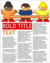 free-kindergarten-newsletter-template-weekly