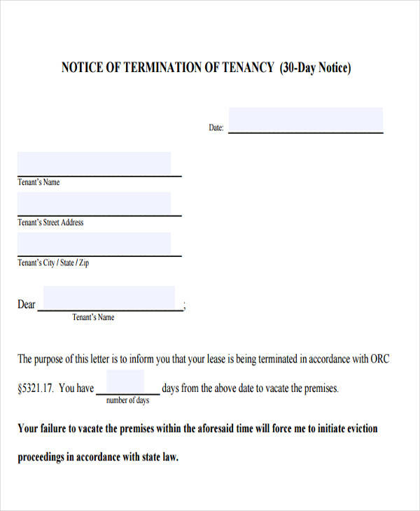 free eviction notice template - 31 eviction notice templates sample templates