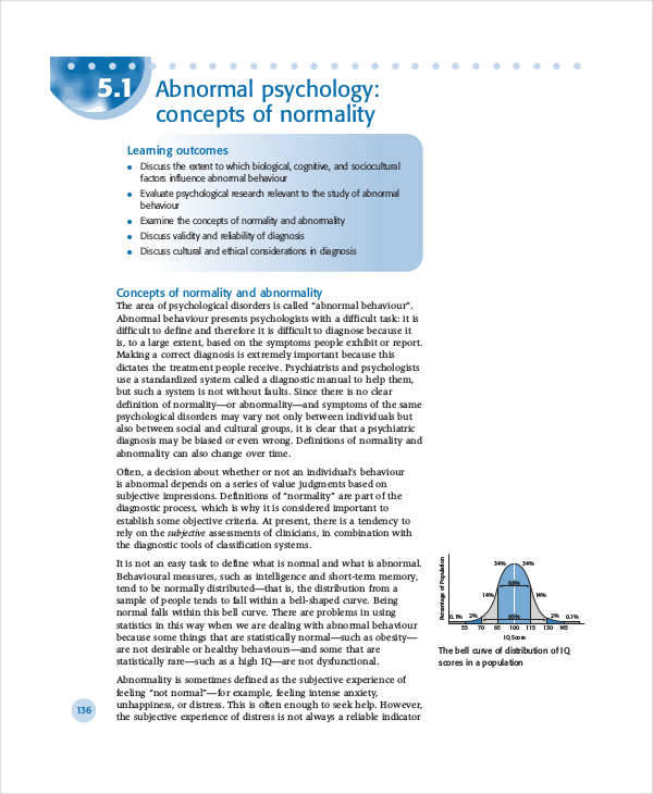 abnormal psychology research