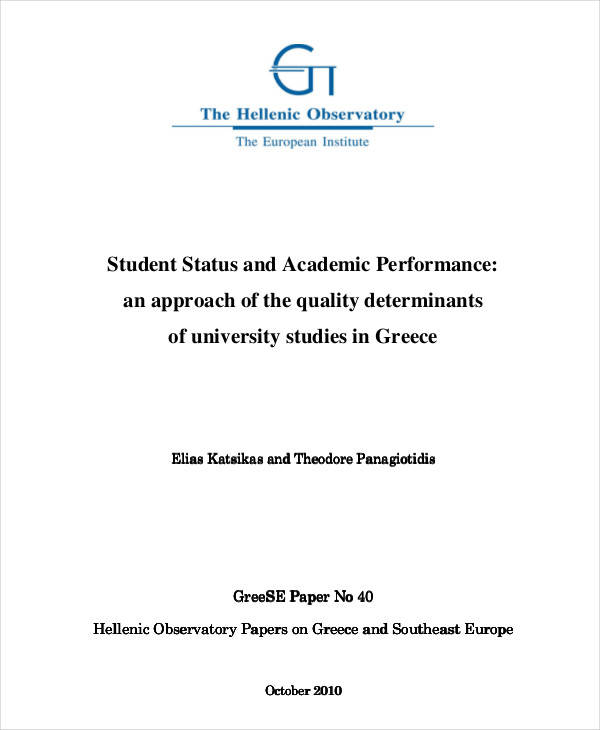 academic performance paper2