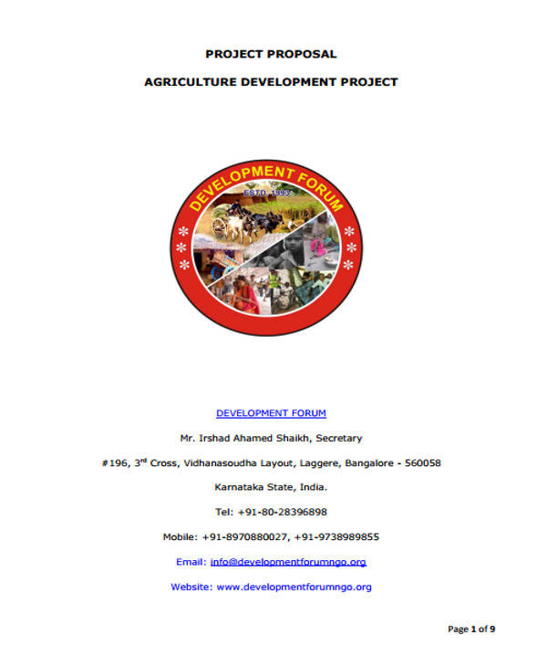 agricultural development project