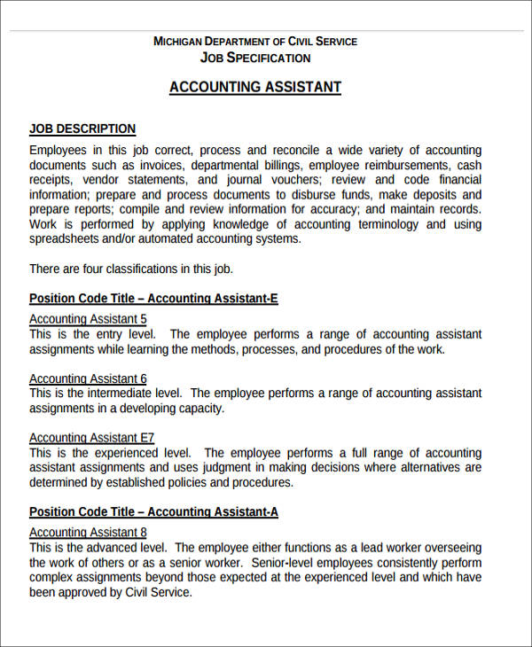 26+ Accountant Resume Formats