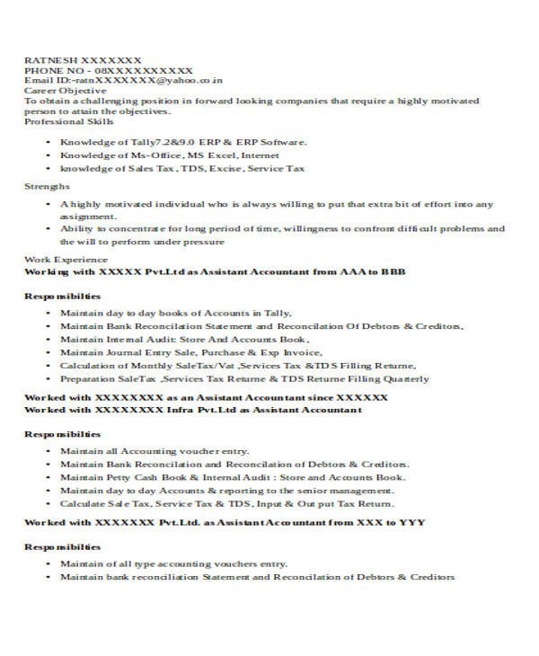 assistant accountant resume sales assistant 28 images