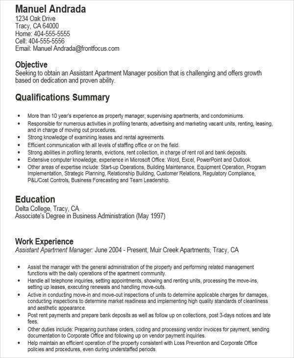 regional property manager resume 47 images regional