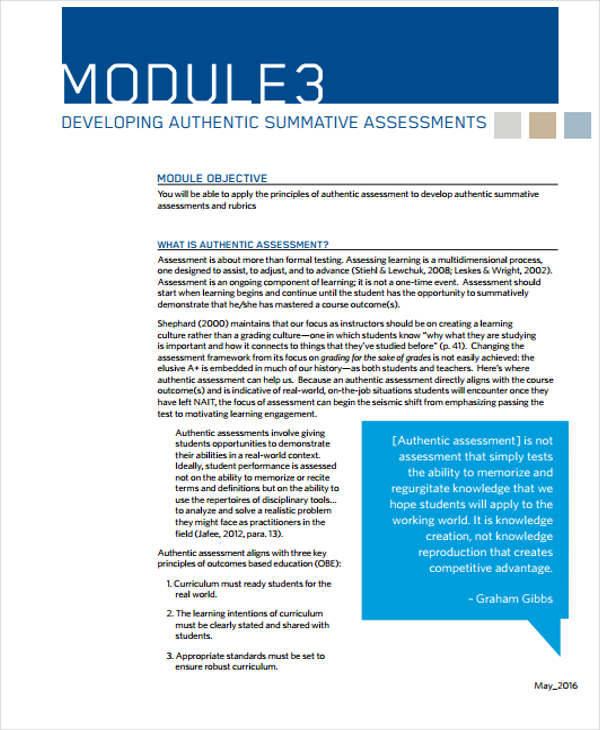 summative assessment template - 31 assessment examples sample templates