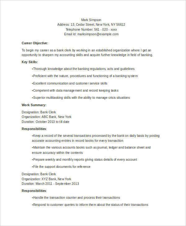 51 resume format sles