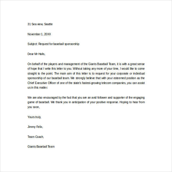 baseball-sponsor-thank-you-letter