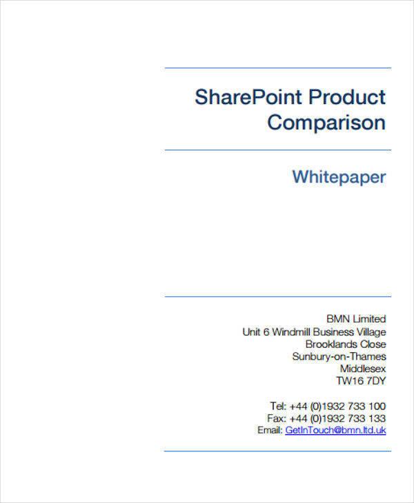 basic white paper