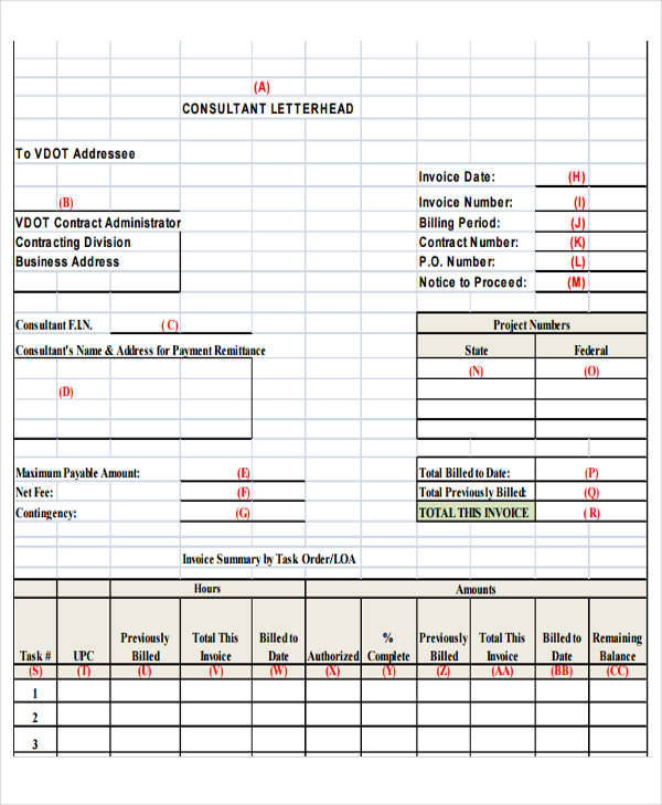 business consulting receipt1