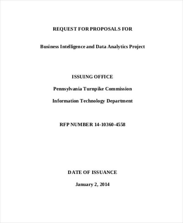 business intelligence project