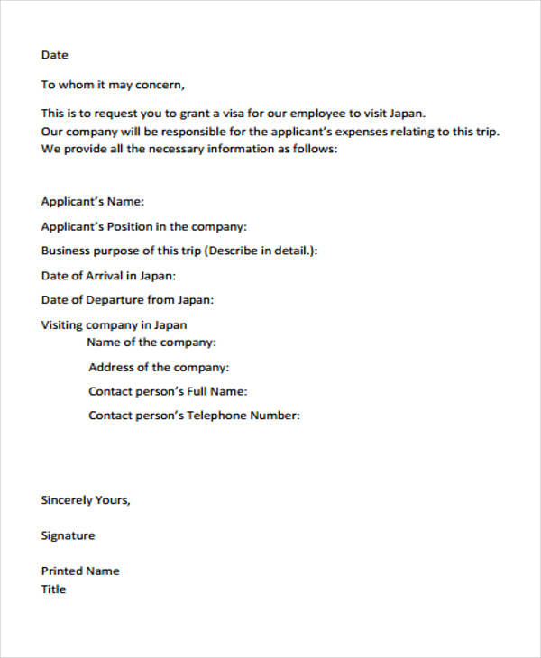 business meeting proposal letter example