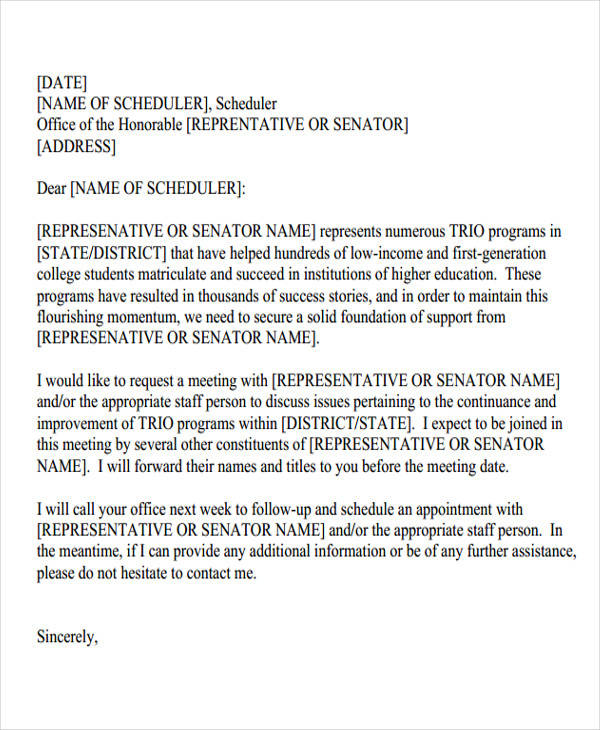 business meeting proposal letter