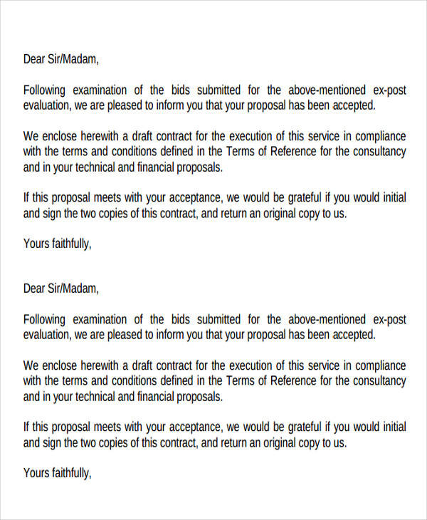 44  business proposal letter examples