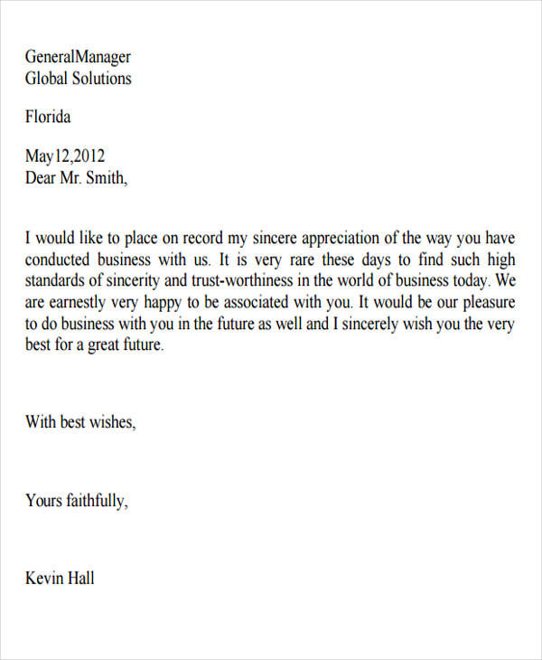 business relationship appreciation letter1
