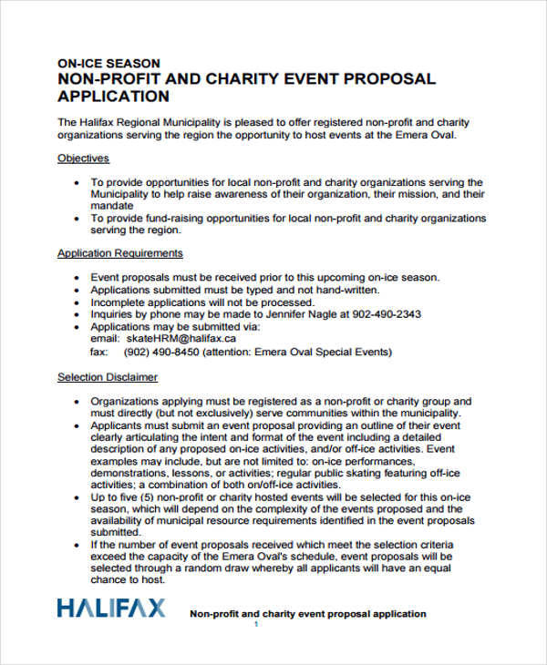 Event Proposals In Pdf