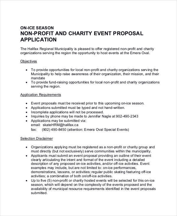 charity event proposal1