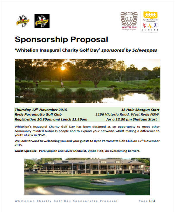 charity event sponsorship proposal1