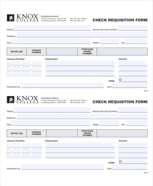 check requisition form pdf