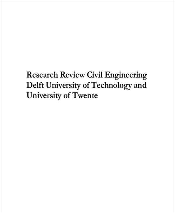 civil engineering paper
