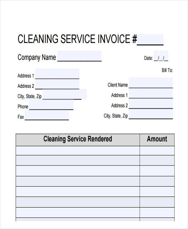 39  sample invoices