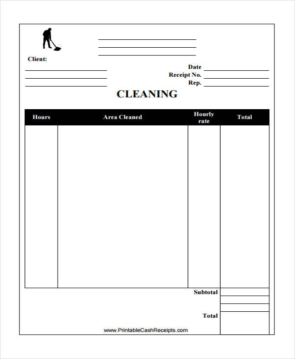 cleaning service bill3