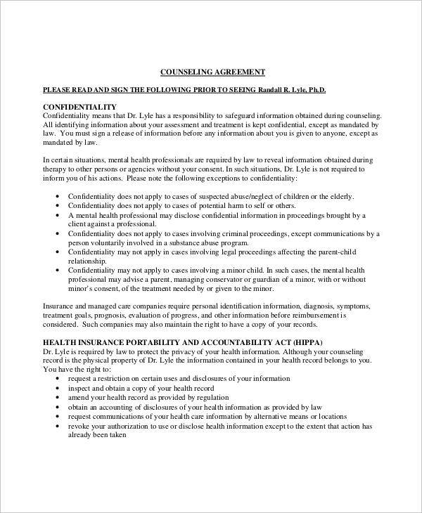 8 Client Confidentiality Agreements Examples In Word Pdf