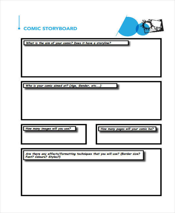 comic layout storyboard1