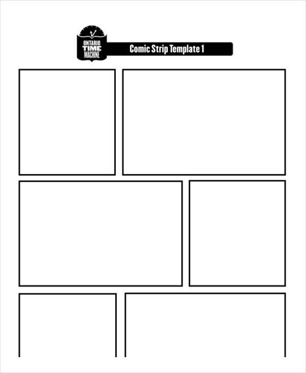 Comic Storyboard  Free Sample Example Format Download