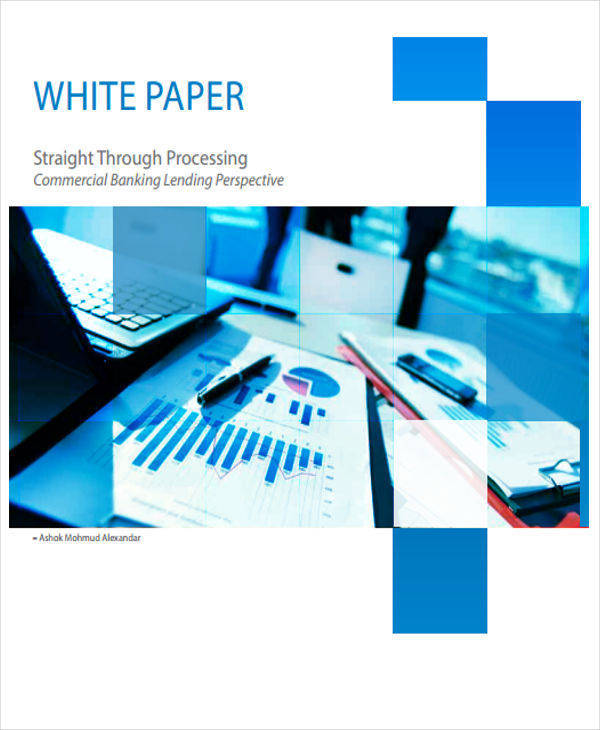 commercial banking white paper